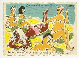 33 - SOUVENIR DE LACANAU OCEAN Illustré - Autres Communes