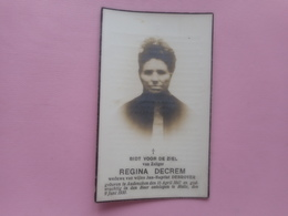 D.P.-REGINA DECREM°AUDENAKEN 15-4-1847+HALLE 9-6-1930 - Religion & Esotérisme