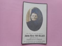 D.P.-JOANNA MARIA VAN RILLAER°KEERBERGEN 30-7-1864+ALDAAR 28-6-1928 - Religion & Esotérisme