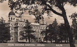 Royal Victoria Hospital Netley Hampshire Vintage Real Photo Postcard - England