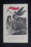 "MILITARIA  - Carte Postale - Propagande Communiste "" Sac Au Dos à Berlin Pour Moscou "" , Illustrateur - L 33958 - Weltkrieg 1939-45"