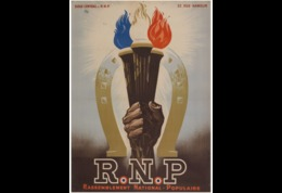 @@@ MAGNET - R. N. P. Rassemblement National Populaire - Publicidad