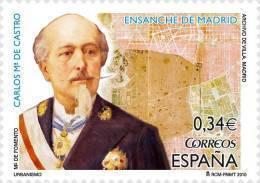 ESPAÑA 2010 - URBANISMO - CARLOS Mª CASTRO Y ENSANCHE DE MADRID - EDIFIL Nº 4558 - 1931-Hoy: 2ª República - ... Juan Carlos I