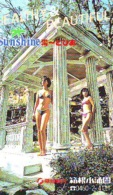 Télécarte Japon * EROTIQUE *   (6504) *  EROTIC PHONECARD JAPAN * TK * BATHCLOTHES * FEMME SEXY LADY LINGERIE - Mode