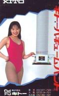 Télécarte Japon * EROTIQUE *   (6509) *  EROTIC PHONECARD JAPAN * TK * BATHCLOTHES * FEMME SEXY LADY LINGERIE - Mode