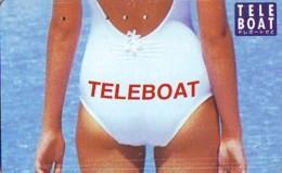 Télécarte Japon * EROTIQUE *   (6516) TELEBOAT *  EROTIC PHONECARD JAPAN * TK * BATHCLOTHES * FEMME SEXY LADY LINGERIE - Mode