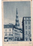 LETTONIE 1942  CARTE POSTALE DE RIGA  PETRIKIRCHE - Lettonie