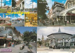 Southport Thomas Cook Travel Agents Wayfarers Arcard Shops Pier 4x Postcard S - Other
