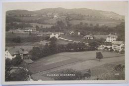 Schweiz, Puidoux Chexbres, Ortsansicht, Fotokarte 1922  - VD Waadt