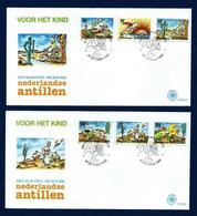 Antillas Holandesas Nº 884/9 (sobre Primer Día) - Antillas Holandesas