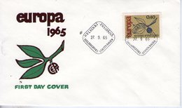 Finlande. Enveloppe Fdc. Europa 1965 - Finlande