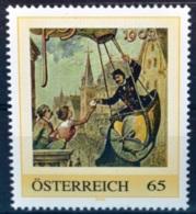 SPECIAL €-EDITION AUSTRIAN POST - Ph529 Ballonpost 1909, Balloon, Globo, Pallone, Hist. Postfahrzeuge, AT 20?? ** - Austria