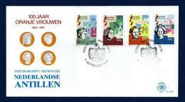 Antillas Holandesas Nº 879/82 (sobre Primer Día) - Antillas Holandesas