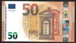 "New Issue! Greece  ""Y"" 50  EURO ! Draghi  Signature!! UNC  (from Bundle) ""Y"" Printer  N001B2 ! - 50 Euro"