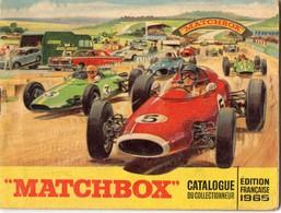 Petit Catalogue Du Collectionneur - MATCHBOX - Edition Française 1965 - Au Dos Cachet R. Roussel - Villedieu Les Poeles - Publicités
