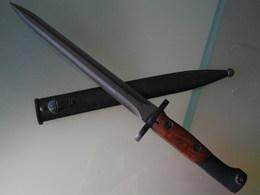 Baionnette Dague Militaire Mauser Belge - Armes Blanches