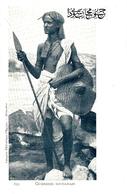 322- Guerrier Soudanais -ed. Comptoir Phil. D'Egypte - Alexandrie - Sudán