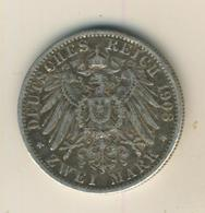 2 Mark 1908,A, Preussen,Deutsches Reich Kaiserreich,Silber (24) - 2, 3 & 5 Mark Argent