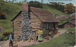 USA 1916 CARTE POSTALE DE HOUSTON  UNCLE TOM'S CABIN - Houston