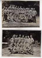 2 Photos ( 14 Cm / 9.5 Cm ),Male,Group,Austria School.Anonymous Persons - Persone Anonimi