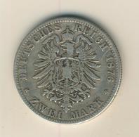 2 Mark,1876,A, König Von Preussen ,Silber (26) - 2, 3 & 5 Mark Silber