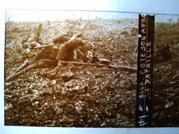 Guerre 1914-18 - Côte 304 Après La Bataille - Cadavre - Plaque De Verre StéréoscopiqueTBE - Plaques De Verre