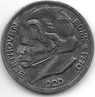 Notgeld  Bonn 10 Pfennig 1920 Beethoven Fe 1781.1 /F51.1A/a - Autres