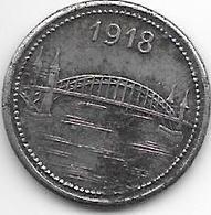 *notgeld  Bonn  5 Pfennig 1918 Fe 1785.1 /F52.3 - [ 2] 1871-1918 : Duitse Rijk