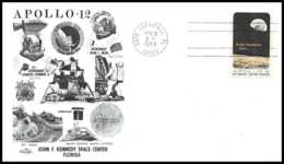5341/ Espace (space) Lettre (cover) 19/11/1969 Apollo 12 USA - Lettres & Documents
