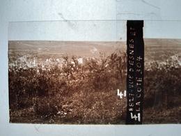 Guerre 1914-18 - ESNES (55) - Vue Et La Côte 304 - Plaque De Verre StéréoscopiqueTBE - Plaques De Verre