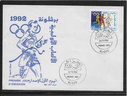 Thème Athlétisme - Jeux Olympiques - Sports - Enveloppe - Leichtathletik