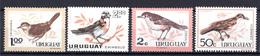 1963 -  URUGUAY -  Mi. Nr.  955/958 - NH - (AS2302.1) - Uruguay