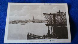 Riga Mit Der Gesprengten Brücke Latvia - Lettonia