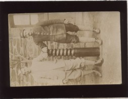 2 Militaires 306 Sur Le Col Carte Photo René Et Alexandre Marquer En 1915 - Guerre 1914-18