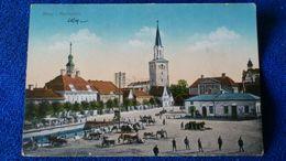 Mitau Marktplatz Latvia - Lettonia