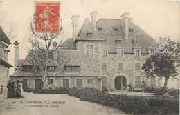 Lot 2 CPA 19 Corrèze Beaulieu Sur Dordorgne Le Chateau Du Doux + Façade Nord - Tulle