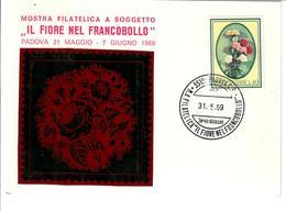 ITALIA 1967 - IL FIORE NEL FRANCOBOLLO -   FDC - 6. 1946-.. Republic