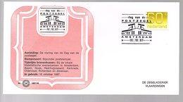 Netherlands Dag Van De Postzegel Amsterdam 1987 (EV-68) - Tag Der Briefmarke