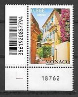 Monaco 2019 - Yv N° 3198 ** - Les Maisons Anciennes (Sepac) - Neufs