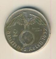 DEUTSCHES REICH - 2 REICHSMARK - 1937  - 625 SILBER   (31) - [ 4] 1933-1945 : Third Reich