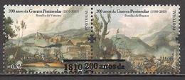 Portugal  (2010)  Mi.Nr.  3558 + 3559  Gest. / Used  Paar / Pair  (6fe01) - Oblitérés