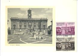 ITALIA 1967 - TRATTATI DI ROMA   -   FDC - 6. 1946-.. Repubblica