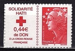 ADH 70 - FRANCE Adhésifs N° 388 Neufs** Surtaxe Haïti - France