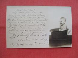 Child In Wash Tub   Ref 3453 - To Identify