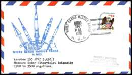 7804/ Espace (space Raumfahrt) Lettre (cover Briefe) 18/5/1976 White Sands Missile Range USA - Lettres & Documents