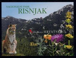 CROATIA 2004 Risnjak National Park MNH / **.  Michel  Block 24 - Croatia