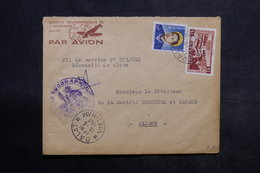 VIÊT NAM - Enveloppe Du Service Géographique De Dalat Pour Saïgon En 1953 - L 33972 - Vietnam