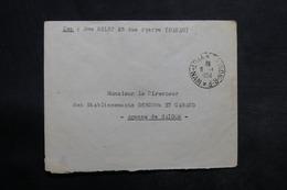VIÊT NAM - Enveloppe De Dakao Pour Saïgon En 1954 , Affranchissement Plaisant Au Verso - L 33973 - Vietnam