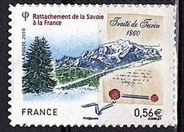ADH 74 - FRANCE Adhésifs N° 415 Neuf** Rattachement De La Savoie à La France - Adhésifs (autocollants)
