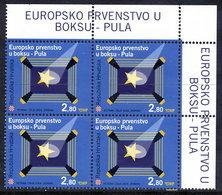 CROATIA 2004 European Boxing Championship Block Of 4 MNH / **  .  Michel  673 - Croazia